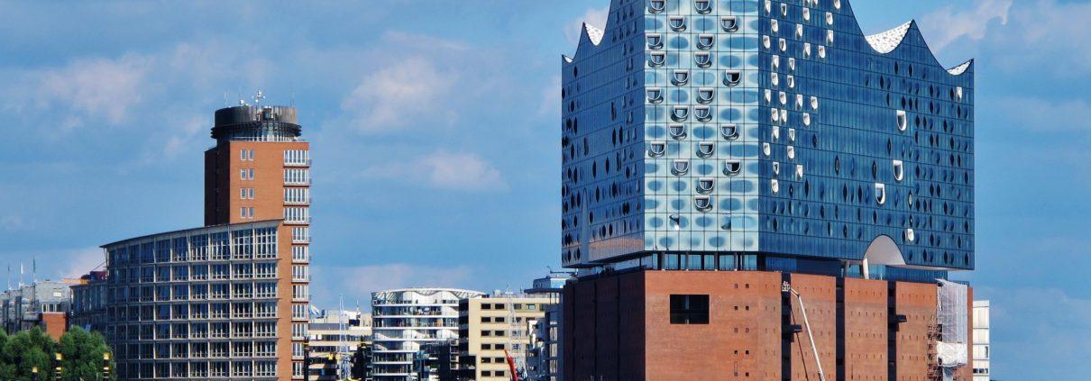 Hamburger Hafencity Mit Elbphilharmonie